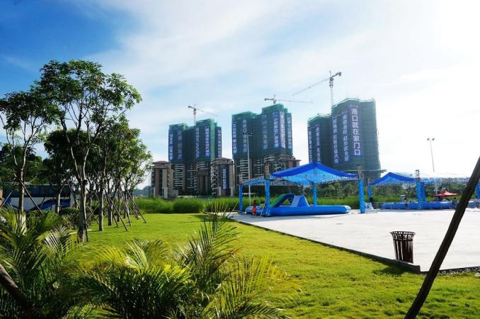 广州星河山海湾实景图