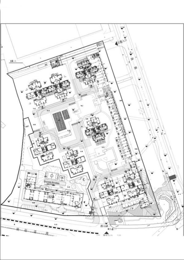 富力悦禧花园规划图