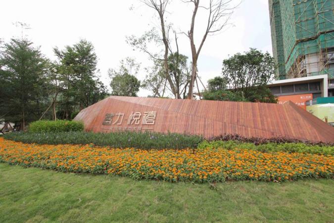 富力悦禧花园实景图