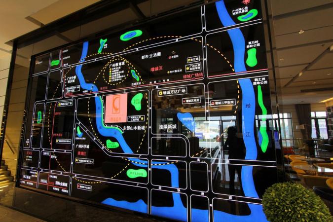 西福蓝湾规划图