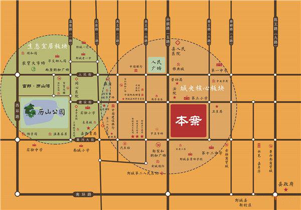 富邦·舜王府规划图