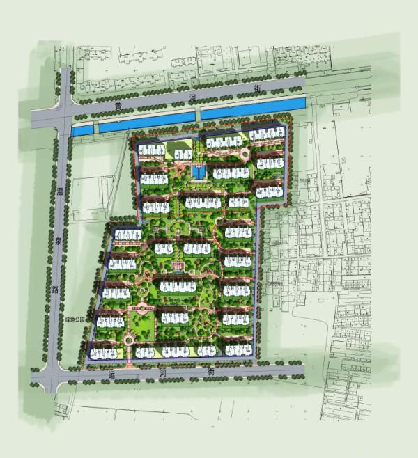 润通·国际新城规划图