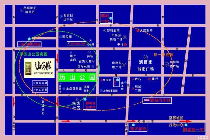 润泽.山河城规划图
