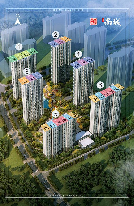 金鼎尚城规划图