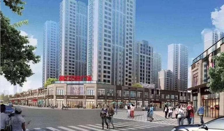 淄博富力·万达广场效果图