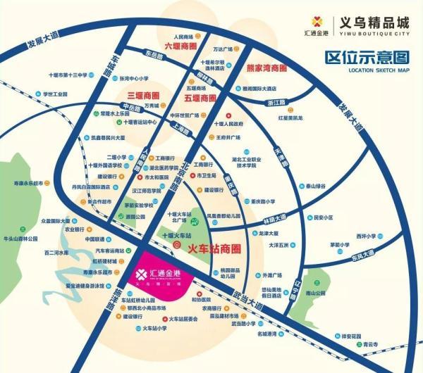 汇通金港规划图