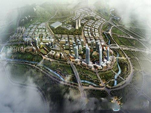 翔龙·四方新城规划图