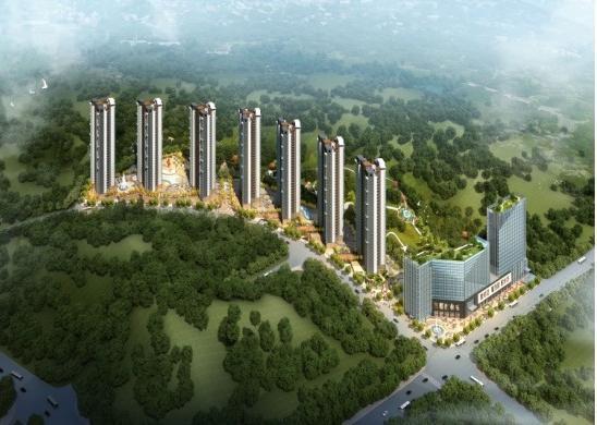 泰山·绿谷效果图
