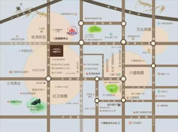 中国中铁·世纪山水位置图
