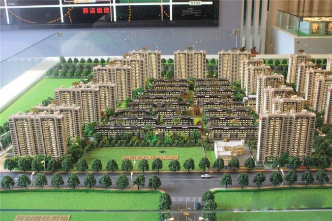 郑州孔雀城规划图