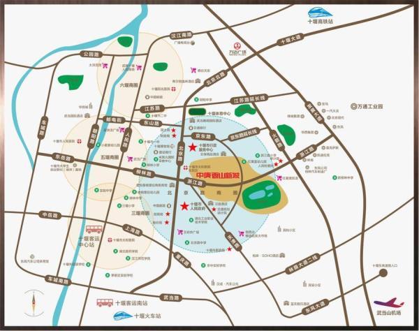 中庚香山新城规划图