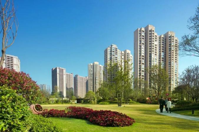 中庚香山新城实景图