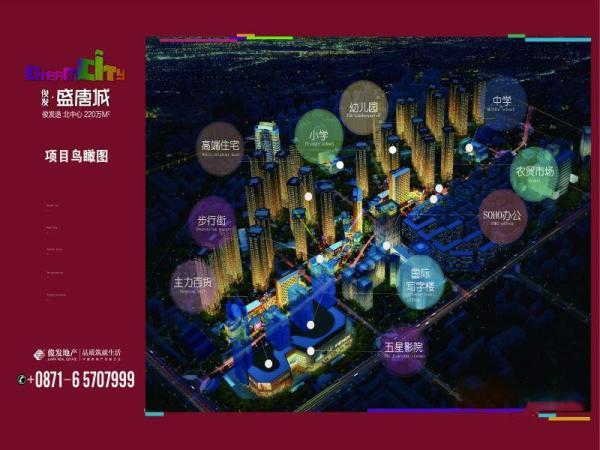 俊发盛唐城规划图