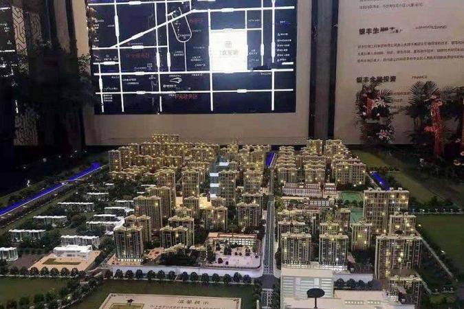 银丰玖玺城规划图