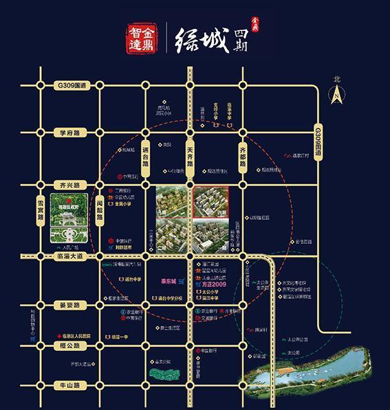 金鼎绿城位置图