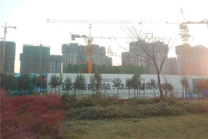 翰林国际城实景图