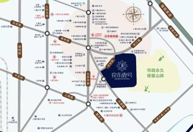 京东壹号位置图