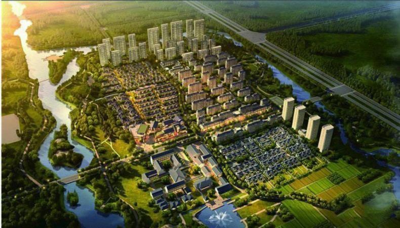 歌尔绿城规划图