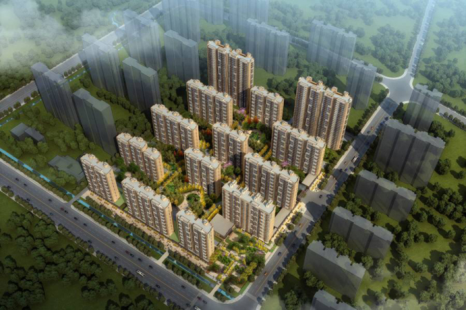 旭辉银盛泰·金域蓝山规划图