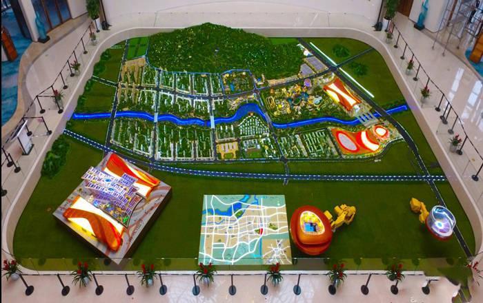 济南万达城规划图