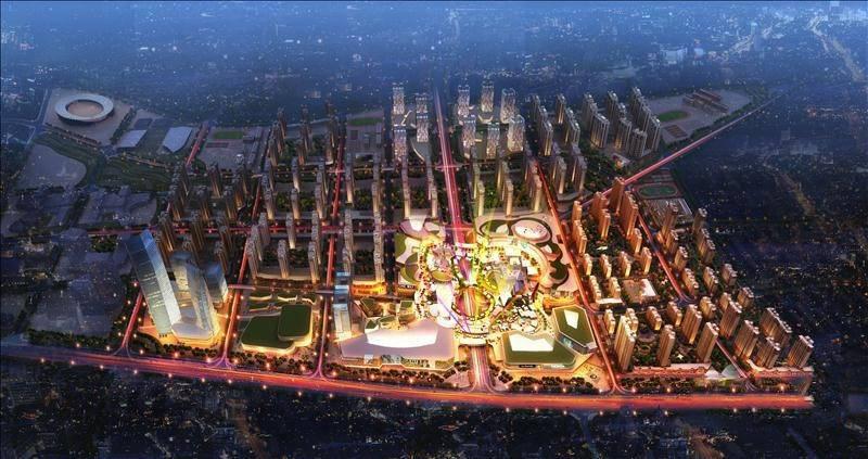 中国MALL·城市之星规划图