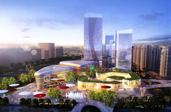 中国MALL·城市之星效果图
