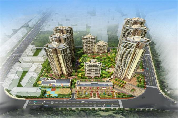 中海龙泉公馆规划图
