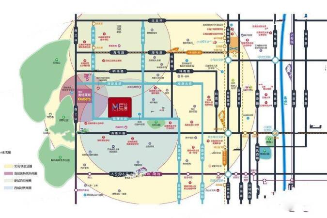 ME公寓规划图