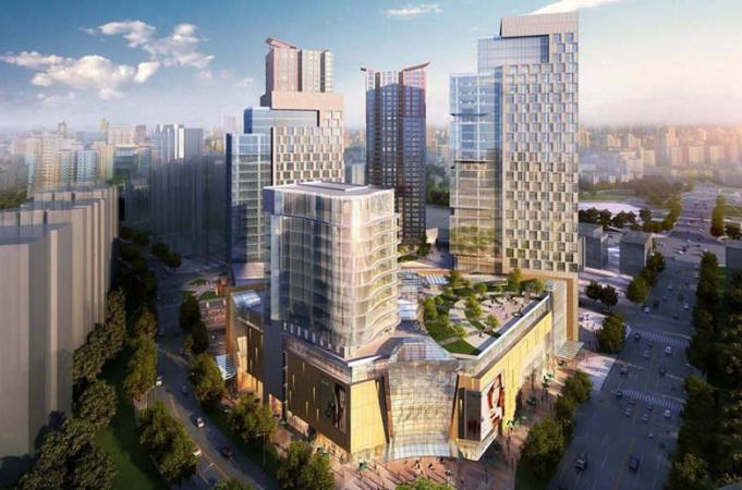 亚洲创意产业城效果图