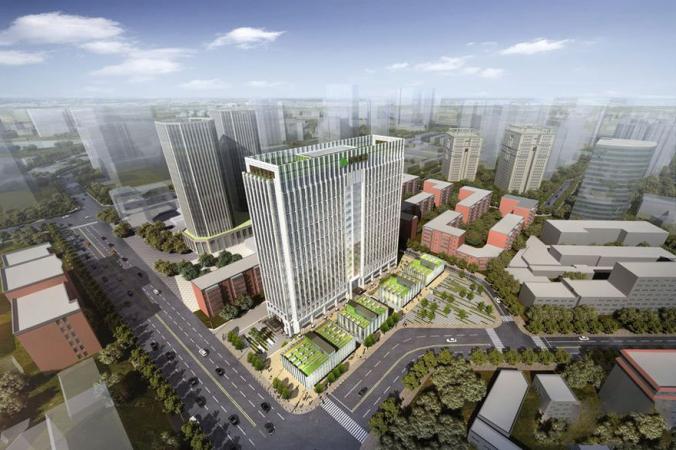 绿地金融中心规划图