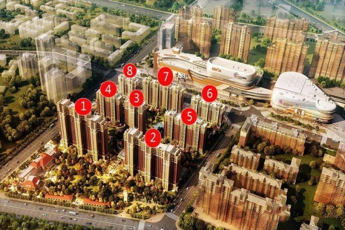 华润·萬橡府规划图