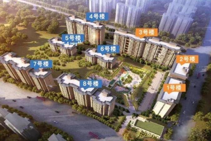 中铁碧桂园规划图