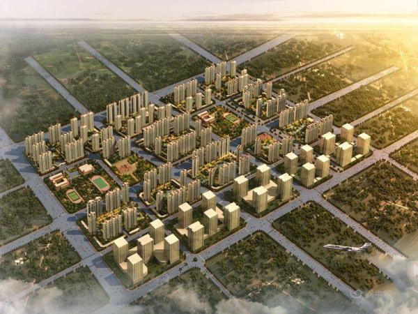恒大金碧新城规划图