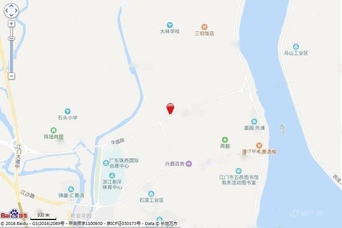 华强国际公馆位置图
