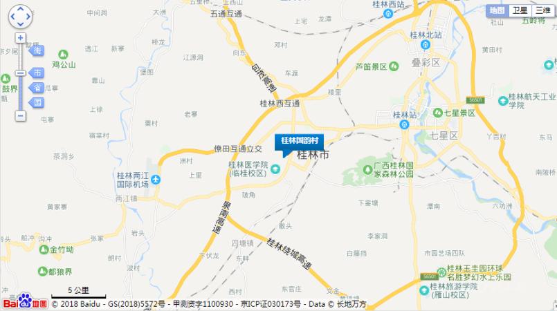 桂林国韵村位置图