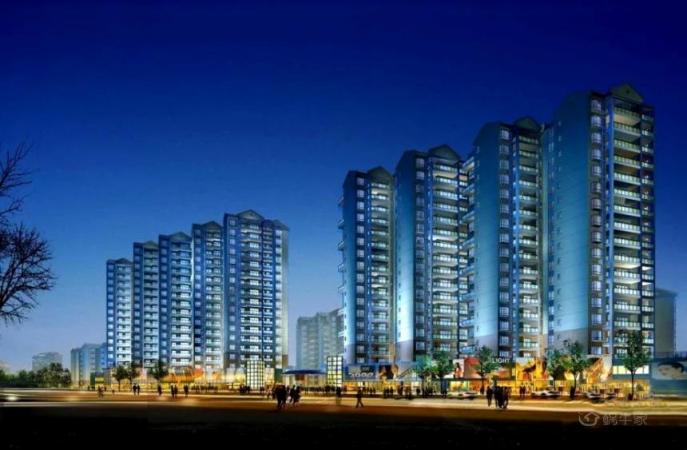 水岸新城效果图