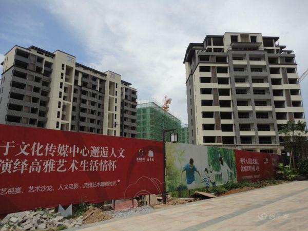 桂林国奥城实景图