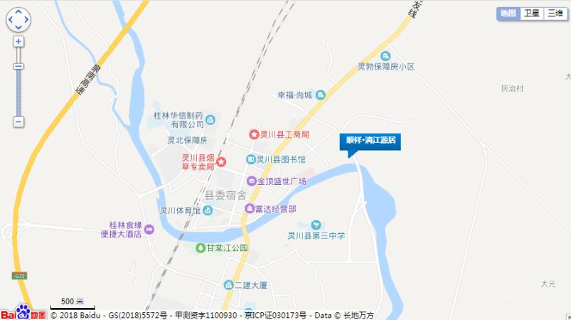 顺祥漓江源居位置图