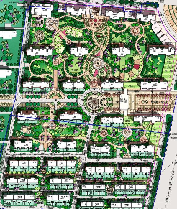 桂花园规划图