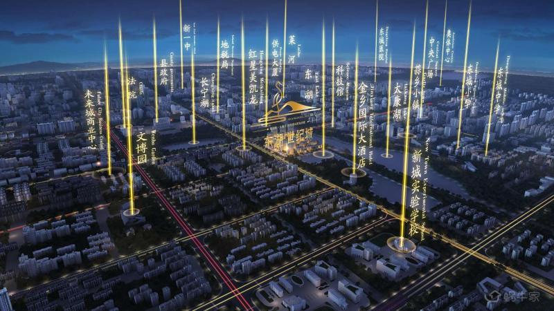 东湖世纪城位置图