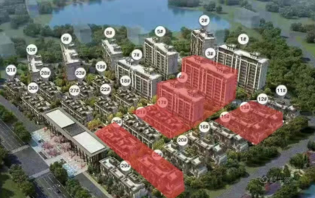 中南樾府规划图