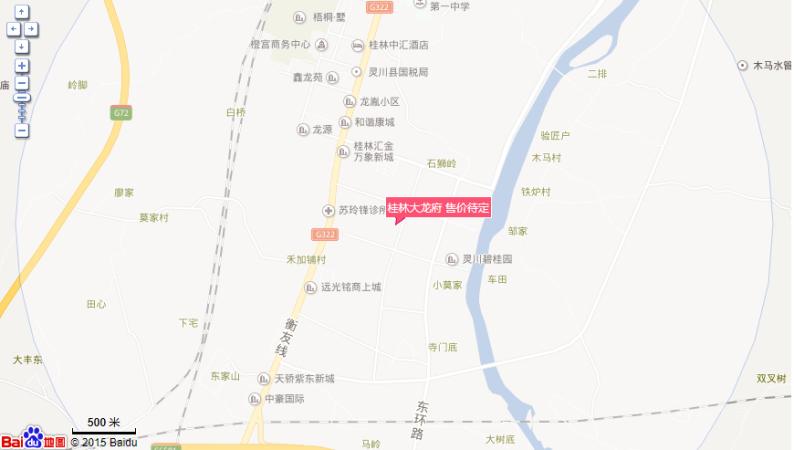 桂林大龙府位置图