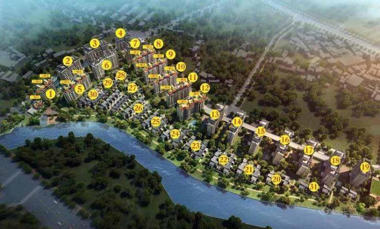 兴进漓江郡府规划图