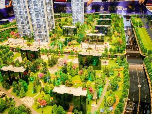 碧桂园·城市花园实景图