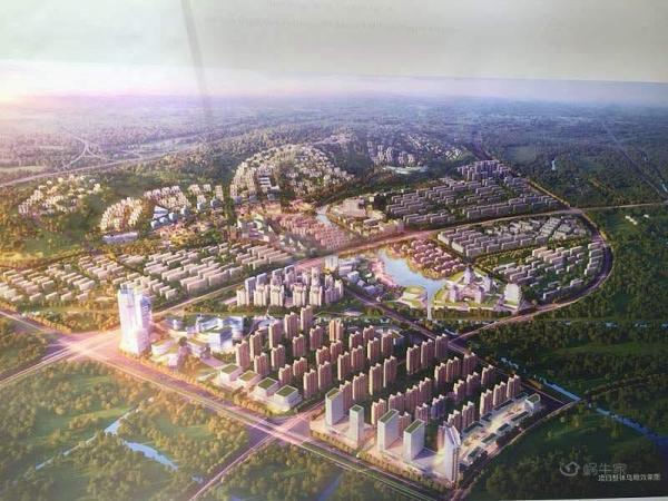 绿地·滇池国际健康城规划图
