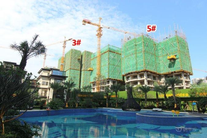 彰泰城实景图