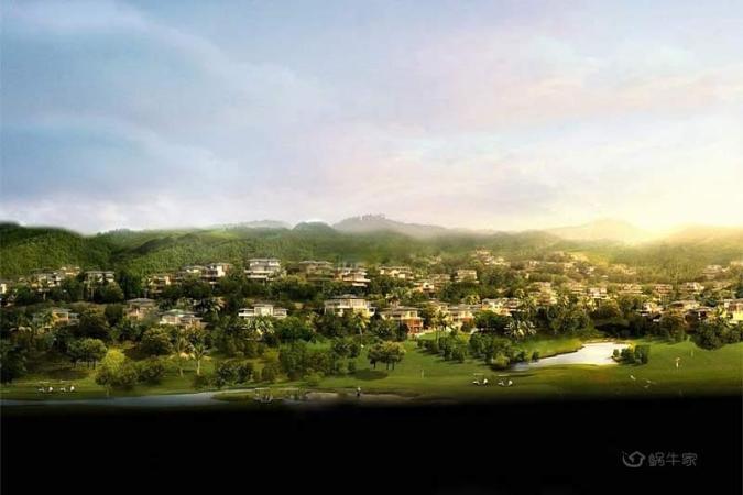 绿地·滇池国际健康城效果图