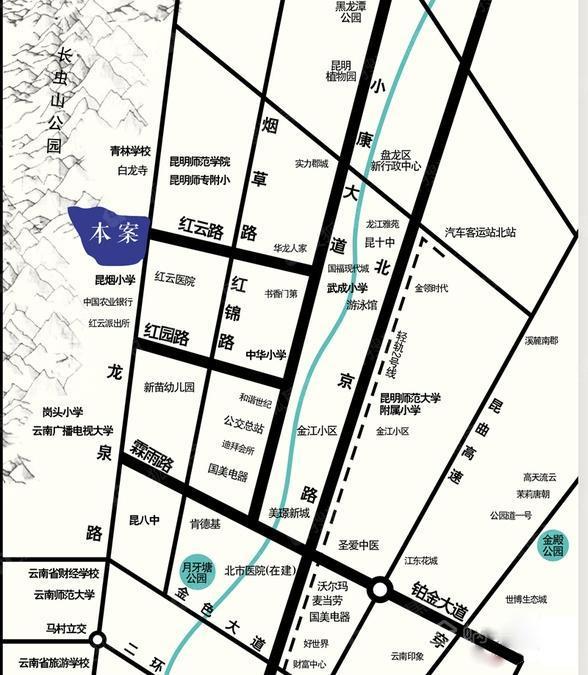 曦园规划图