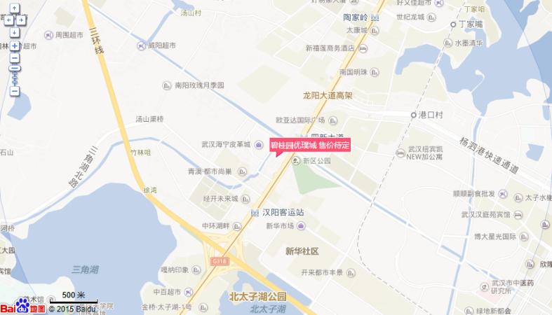 碧桂园优璞城位置图