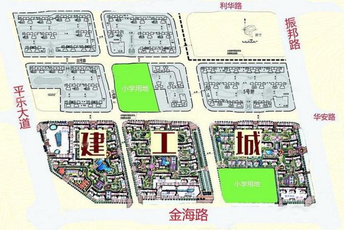 建工城规划图